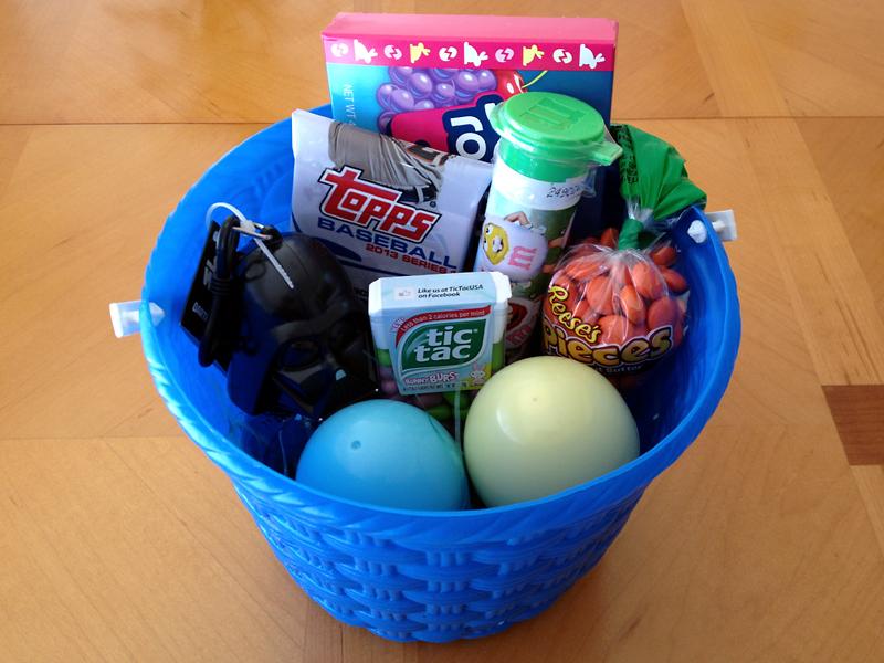 E's Easter Basket