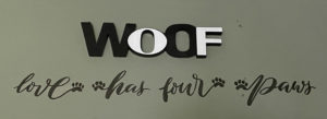 Woof Sign
