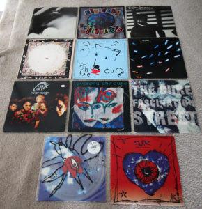 Cure Vinyl - Singles