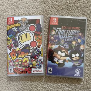 Purchased Switch Games