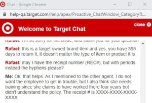 Target Chat 1